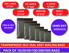 All Sizes Grey Mailing Bags Self Seal Strong Postal Packing Courier Parcel Poly