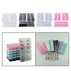 3Pc 12 Grids Plastic Organizer Container Storage Box for Jewelry Beads