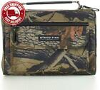 """Camouflage Poly-Canvas Bible / Book Cover w/""""Stand Firm"""" Tag - 1 Corinthians 16:"""