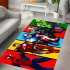 Spiderman Patterned Area Rugs For Kids Room│Living room│Comfortable Carpet