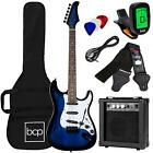 Electric Guitar Kit 39 Inch for Beginners Musical Instrument Set with Case New for sale