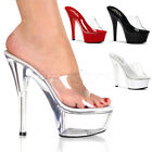 Sexy 6  Inch Stiletto Heel Stripper Shoes 4 Colors Kiss-201