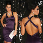 NEW SEXY PLUM COCKTAIL/PARTY DRESS SIZE 8/10/12