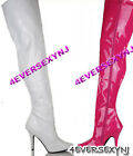 "Sexy 5"" Classic Plain Thigh High Boot 8 Colors"