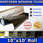 "Window Tint UV Solar Film 10""x10' Roll car home office"