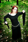 Stretch JERSEY Pixie Top/Off Shoulder/GOTH/PAGAN/FAE/LARP/WEDDING/Rowans Closet