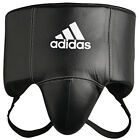 NEW ADIDAS MENS MARTIAL ARTS PROTECTION PRO PU VELCRO GROIN GUARD CE APPROVED
