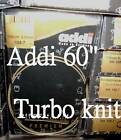 "60"" Addi 150cm Circular Knitting Needles turbo knit"