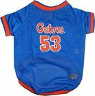 Florida Gators NCAA Pet Dog Jersey Shirt Mesh (all sizes)