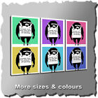 BANKSY LAUGH NOW CANVAS PRINT GRAFFITI WALL ART THREE PANEL MANY COLOURS & SIZES