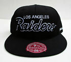Los Angeles Raiders Black All Sizes Cap Hat by Mitchell & Ness