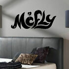 MCFLY LARGE WALL  ART STICKER DECAL IN CUT MATT VINYL
