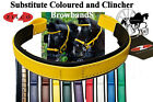 Zilco Coloured Bridle Substitute  Browbands For Carriage Driving Horse Harness