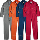 Dickies DELUXE COVERALL LONG SLEEVE Cotton S M L XL 2XL 3XL 4XL NAVY RED GRAY OR