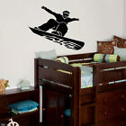 LARGE SNOWBOARDING CHILDRENS BEDROOM WALL MURAL GIANT ART STICKER DECAL  VINYL