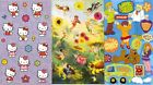 SANDYLION Assorted MAXI Sticker Sheets Choice HELLO KITTY SCOOBY COWS &more