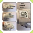 Owen Handball Gloves 922 Padded WHITE Wall Ball/One Wall/4 Wall Handball