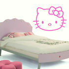 LARGE HELLO KITTY CHILDRENS KIDS BEDROOM WALL MURAL STICKER TRANSFER VINYL DECAL