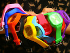 Oversized Colorful Jelly Candy Sports Quartz RUBBER Wrist Watch UNISEX Men WOMAN