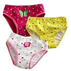 "NEW Baby & Toddler's Girl 3 pack of Underwear Briefs Pantie Set ""Butterfly Set"""