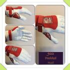 Owen Handball Gloves 922 Padded Red/White Indoor/Outdoor One Wall or 3/4 Wall