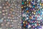 200 x 4mm AB Flat Back DIAMANTE Crystal GEM Stick On With Glue! Card Making