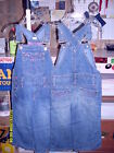 """NEW Toddler Girls """"SQUEEZE"""" Denim Overalls With Pink & Rhinestone Trim 2T-4T"""