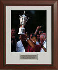 Tiger Woods 2002 US Open Trophy Bethpage Framed Photo 11x14 OR 16x20