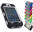 HEAVY DUTY BUILDERS WORK WORKMAN CASE COVER FOR IPHONE 4 4S FULL ARMOUR IMPACT