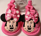 MiNNie MoUSe~Face~SliPPers~SoFt~ShOes~Pink~InFanT~0-24M~Costume~Disney Store