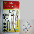 KAM Snap Pliers  & 100 Sets KAM Resin Snaps / Poppers / Fasteners - SIZE 16
