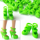 Wholesale 10-100  lots New Pairs Barbie sexy Green High-heel & Pumps Shoes