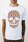 skull colourful T-Shirt, Mcqueen great print for fashion alexander,great item..