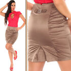 NEW SEXY LADIES SKIRT WITH DIAMONTE AND GATHERING PARTY/CLUB/CASUAL/WORK ~  8 10