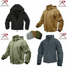 Rothco 9867 Waterproof Special OPS Tactical SoftShell Jacket Cold Weather Coyote