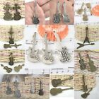 alloy metal material multi- music instrument pendant findings assorted