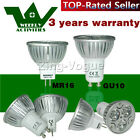 4W LED Bulbs 4 10 12 X High Power GU10 MR16 Light Day White Warm White Spot Lamp
