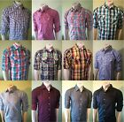 AC Mens Summer Shirt, Slim fit Casual checked Shirt, 6 Designs and 3 Sizes