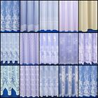 CHOICE OF 20 GREAT VALUE PREMIUM QUALITY NET CURTAINS - SOLD BY THE METRE