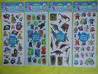 2 PACKS of STICKERS -Dinosaur /Pirate /Jungle /Monsters PARTY BAG TOYS / FAVOURS
