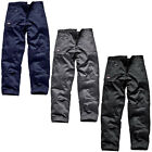 DICKIES WD814 REDHAWK ACTION WORK TROUSERS BLACK NAVY GREY