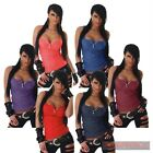NEW SEXY SIZE 8 10 12 14 WOMENS LADIES CASUAL HOT SINGLET SLEEVELESS TANK TOP