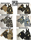 KID'S CLOTHING (CAMOUFLAGE 2/PC SETS T-SHIRT AND OVERALLS)