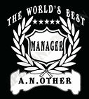 Manager T-Shirt Personalised Add Name of Choice Great Gift Supervisor Manager