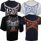 Tapout College Tee Hooter T-Shirt UFC MMA Cage Fighter Mens New L - 5XL Various