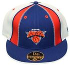 New! New York Knicks - Fitted 3D Embroidered Cap - Adidas - Blue/Orange/White