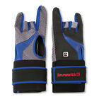 Brunswick Grip All X Black/Blue Right Handed Deluxe Bowling Glove