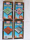 MY GAMES ASSORTED MAGNETIC TRAVEL GAMES DRAUGHTS SNAKES & LADDERS LUDO CHESS BY