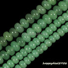 Gorgeous Green Aventurine Gemstone Abacus Rondelle Loose Beads 15.5""