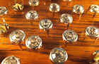 25 Diamante Silver STUDS RIVET 5mm 7mm 9mm Leather Shoes Costumes Craft UK